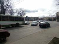 Вторая авария на ул. Газон собрала пробку в центре Великого Новгорода