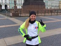 703 километра от Екатерины Борзуновой: девушка добежала до Новгородской области