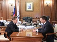 Андрей Никитин и Алексей Миллер обсудили ход газификации Новгородской области