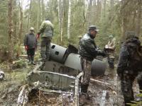 Андрей Никитин принял участие в экспедиции по идентификации штурмовика ИЛ-2, найденного в демянских болотах