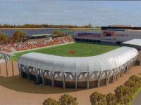 К 15 июля должна быть построена вторая трибуна стадиона «Электрон»