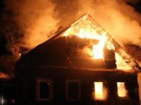Пожар в дачном массиве поселка Парфино