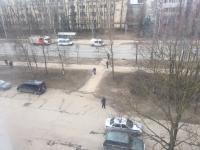 Центральную улицу Великого Новгорода перекрыли из-за пакета на остановке