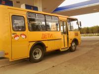 В Крестецком районе сгорел школьный автобус