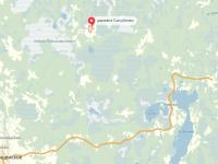 В Мошенском районе на пожаре погиб житель деревни, до которой МЧС добиралось 32 км по бездорожью