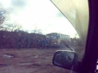 В Старорусском районе автобус с детьми съехал в канаву