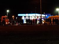 В Великом Новгороде мотоциклист врезался в грейдер, расчищавший от грязи улицу Державина