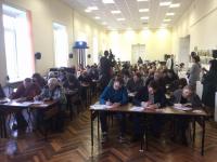 В Великом Новгороде написали «Тотальный диктант» на пяти площадках