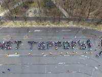 Видео: Великий Новгород провел акцию «Вместе против террора»