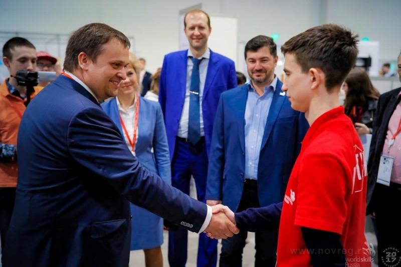 Даниил Баженов: «Власть оказала беспрецедентную поддержку чемпионату WorldSkills»