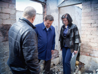 Андрей Никитин: погорельцам из Панковки восстановят квартиры и окажут материальную помощь