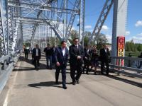 Андрей Никитин поздравил жителей Боровичей с Днем города и обещал помощь в строительстве новой школы