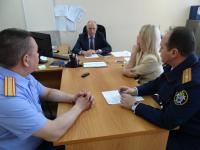 Новый руководитель СУ СК РФ по Новгородской области планирует посетить соцучреждения