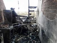 Оперативная съемка Новгородского МЧС: видео пожара панковского дома и фото его последствий