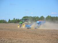 Сев яровых в Новгородской области выполнен на 65%