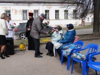 В Боровичах прошел митинг, посвященный медработникам, трудившимся в годы войны