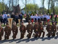 В демянском Лычкове почтили память детей, погибших в 1941-м