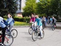 В этом году количество участников велопарада в Великом Новгороде уменьшилось примерно на 200 человек