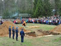 В Новгородской области преданы земле останки 1508 защитников Отечества