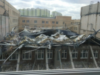 В пригороде Санкт-Петербурга Мурино рухнул школьный спортзал: погиб уроженец новгородской деревни Трубичино