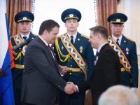 Андрей Никитин вручил награды новгородцам