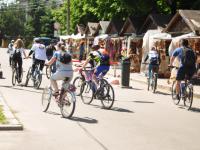 Фото: в Великом Новгороде прошел благотворительный велопробег
