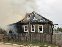 Фотофакт: пожар в Новой Мельнице
