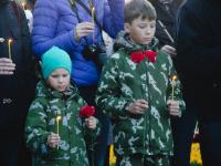 Фоторепортаж с акции «Свеча Памяти»