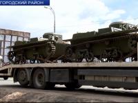 Колонна военной техники стартовала из Мясного Бора в Долину смерти