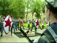 Новгородцы почтили память погибших в Великой Отечественной Войне