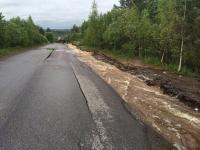 Правительство Новгородской области держит на контроле ликвидацию последствий ЧП на дороге Любытино - Спасская Полисть
