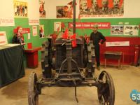 Трактор из «Ночи музеев» уходит в пятилетний отпуск