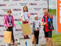 В Боровичах прошел этап кубка области по триатлону