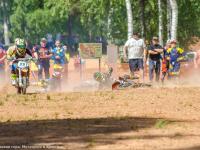 В Крестцах прошли соревнования по мотокроссу