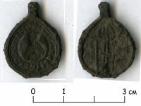 В Старой Руссе найдена печать XVI века из цветного металла