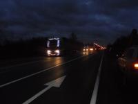 В Старорусском районе автобус съехал в кювет, пострадала женщина