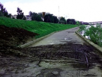В Великом Новгороде горизонтально пробурят сотни метров набережной Александра Невского