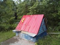 Вандалы осквернили колодец около церкви Воскресения Христова на Красном поле в Великом Новгороде