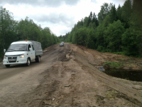 Движение по дороге Любытино–Неболчи–Бокситогорск восстановлено. В работе дорожников еще пять участков