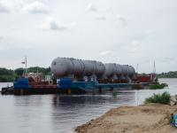 Фотофакт: неведомые штуковины на Щусева действительно оказались парогенераторами для Белорусской АЭС