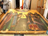 Имя талантливого русского иконописца, творившего сотни лет назад, установили новгородские реставраторы
