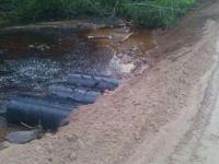 Куратор участка: сегодня будет восстановлен проезд через деревню Вычерема в Любытинском районе
