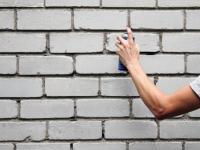 Новгородская полиция задержала молодых людей, рисующих граффити на домах