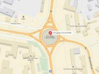 Новгородский бизнес-омбудсмен предлагает убрать круговое движение на площади Строителей