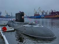 Подводная лодка «Великий Новгород» заслужила право участвовать в главном военно-морском параде страны