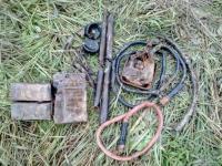 Поисковики подняли останки десяти хорошо вооруженных и экипированных советских солдат в Чудовском районе