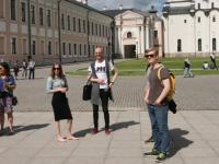 Студенты Летней школы русского языка полюбили Великий Новгород, несмотря на «сезон дождей»