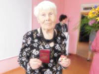 В 86 лет женщина из Волота сдала на «отлично» нормы ГТО