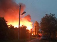В Демянском районе ночью дотла сгорел «большой красивый дом»