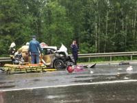 В Крестецком районе из-за столкновения с грузовиком позже скончался и водитель легковушки